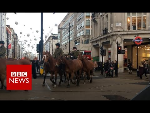 Why the King's Troop take over central London once a week - BBC News