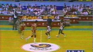 1988 Olympics Basketball USA v. USSR (part 2 of 7)