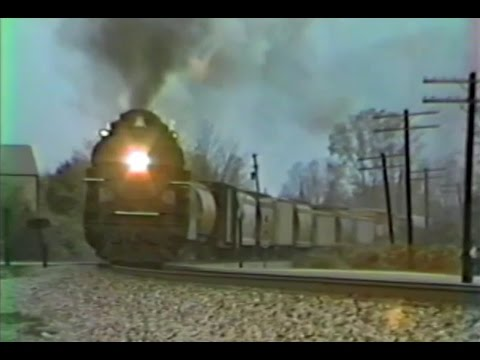 PM 1225 - Steam Passenger & Freight - October 1990