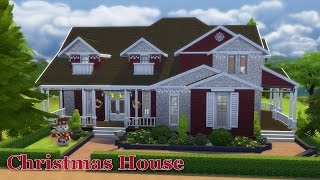 The Sims 4: House Building - Christmas Cottage