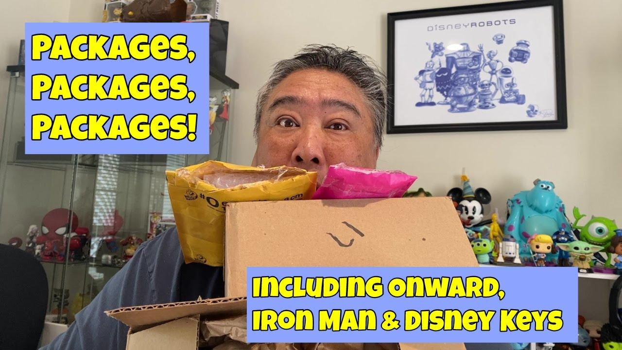 Packages, Packages, Packages! || Incuding ONWARD, IRON MAN & DISNEY KEYS