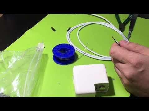 MagSafe ремонт блока питания. Замена кабеля.