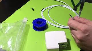 замена кабеля на блоке питания MagSafe