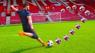 I Spent the Day as A Professional Footballer...(24 Hour Challenge)