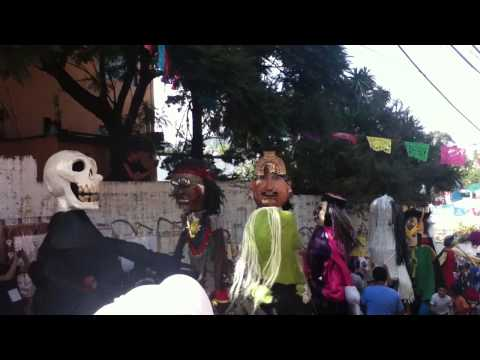 Gigantes en la Magdalena Contreras