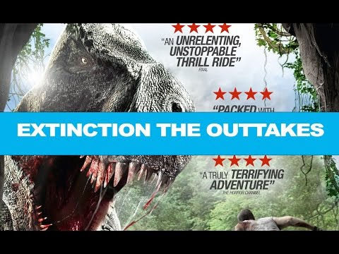 OUTTAKES - Extinction - when a Dinosaur film goes wrong (safe for work)