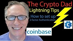 Using Google Authenticator to Set up 2-factor Authentication in Coinbase