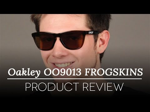 ce5754a697 Oakley OO9013 FROGSKINS Sunglasses Review - YouTube