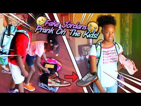 Fake Jordan's Prank On My Kids!