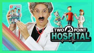 TWO POINT HOSPITAL, on tient enfin la vraie suite de THEME HOSPITAL ? (test du jeu) / mini #12