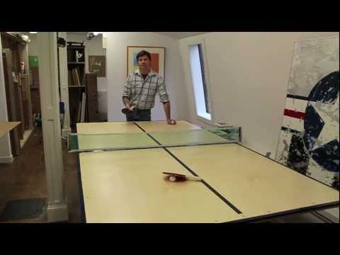 How to Make a Ping Pong Table by Jon Peters