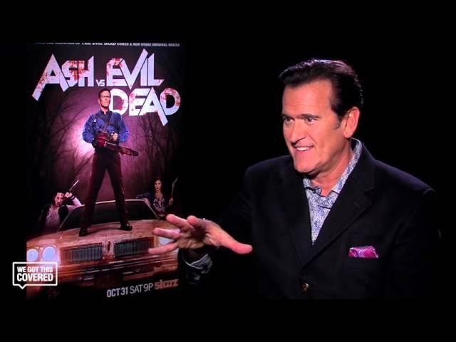 Exclusive Interview: Bruce Campbell Talks Ash vs. Evil Dead [HD]