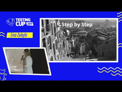 "TestingCup 2017: Lina Zubyte ""Testing big data to predict your perfect fit"""