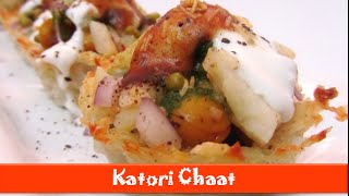 Baked Katori Chaat Recipes/healthy Indian Evening Snacks/potato Basket Food Recipe–let's Be Foodie