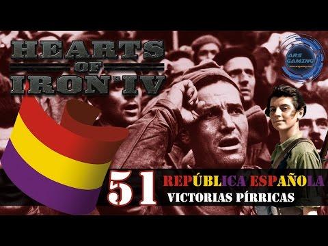 Hearts of Iron IV gameplay en español - República española #51 Victorias pírricas