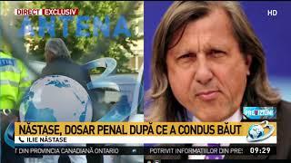 Baixar Ilie Năstase, în direct la Antena 3. Fostul tenismen explică cum s-a întâmplat scandalul cu pol