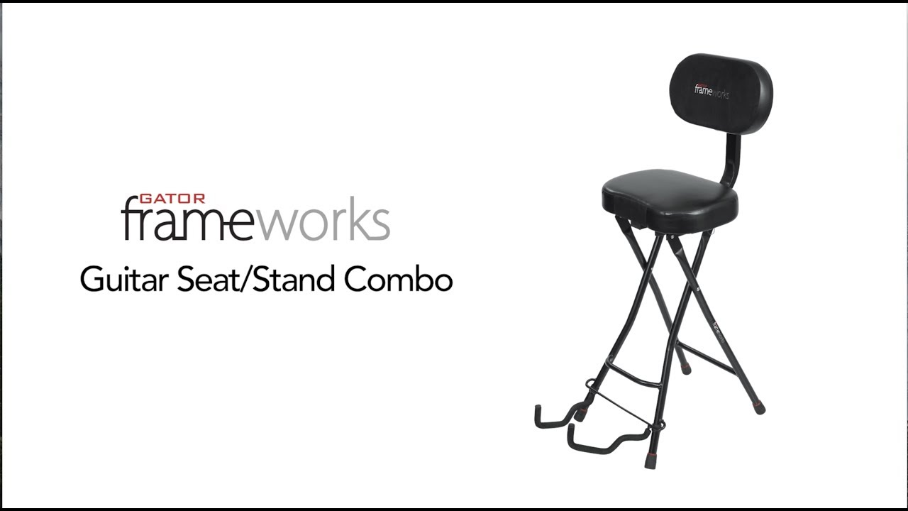 Gator Frameworks Combination Seat And Single Guitar Stand