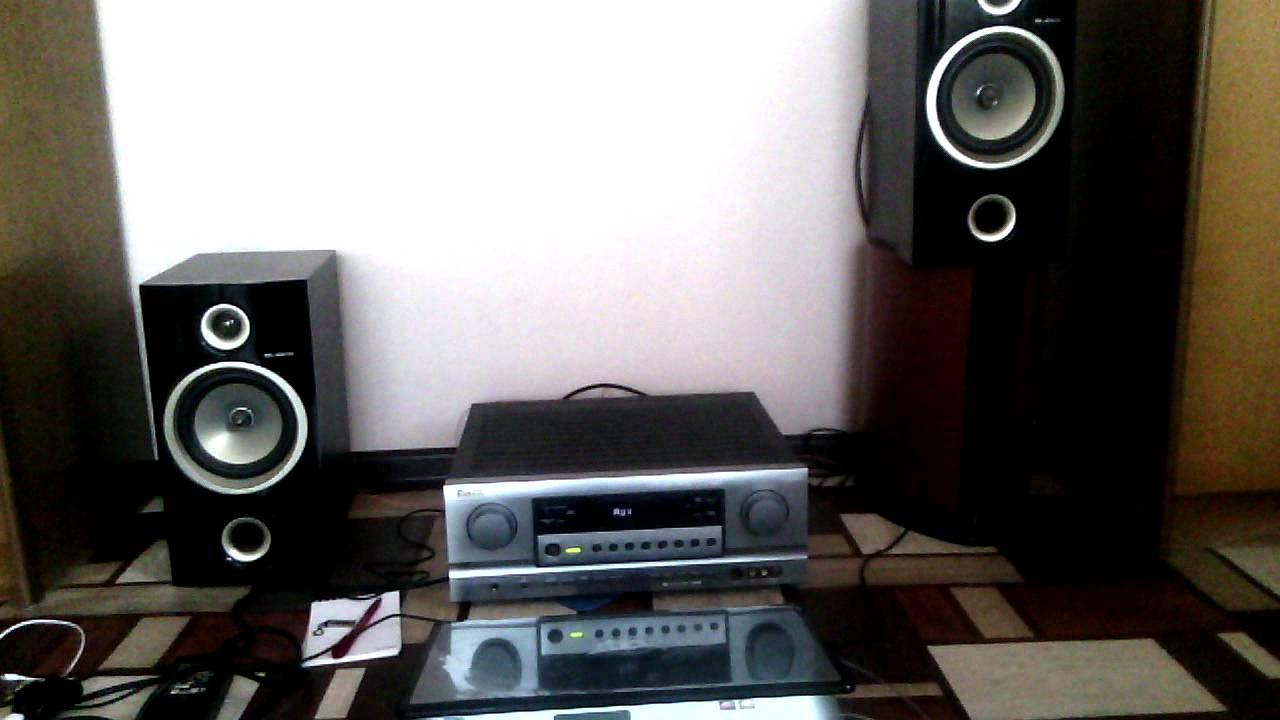 Aleks-302f и Sherwood newcastle r756r - YouTube