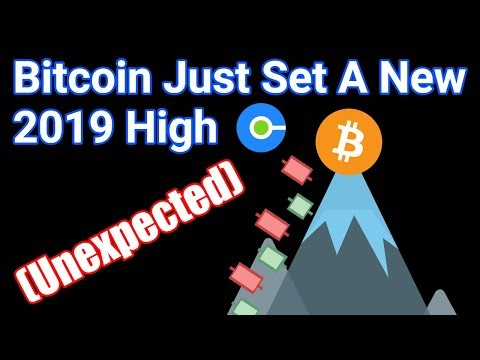 Bitcoin Sets 2019 High + Amazon Another Step Closer To Accepting Bitcoin