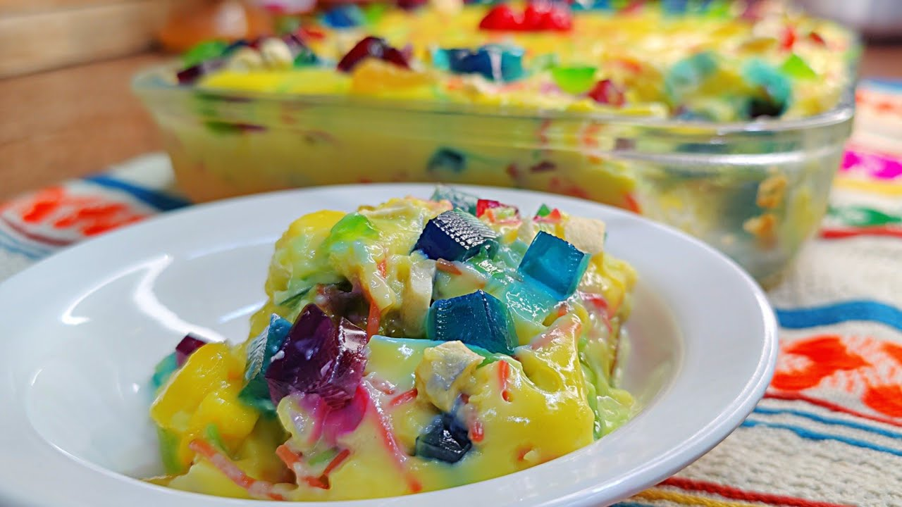 Custard Fruit Trifle Dawat mein banae yeh new dessert | Custard Trifle Recipe