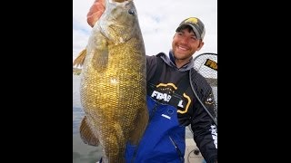 9 lb Smallmouth Bass largest smallmouth captured on video
