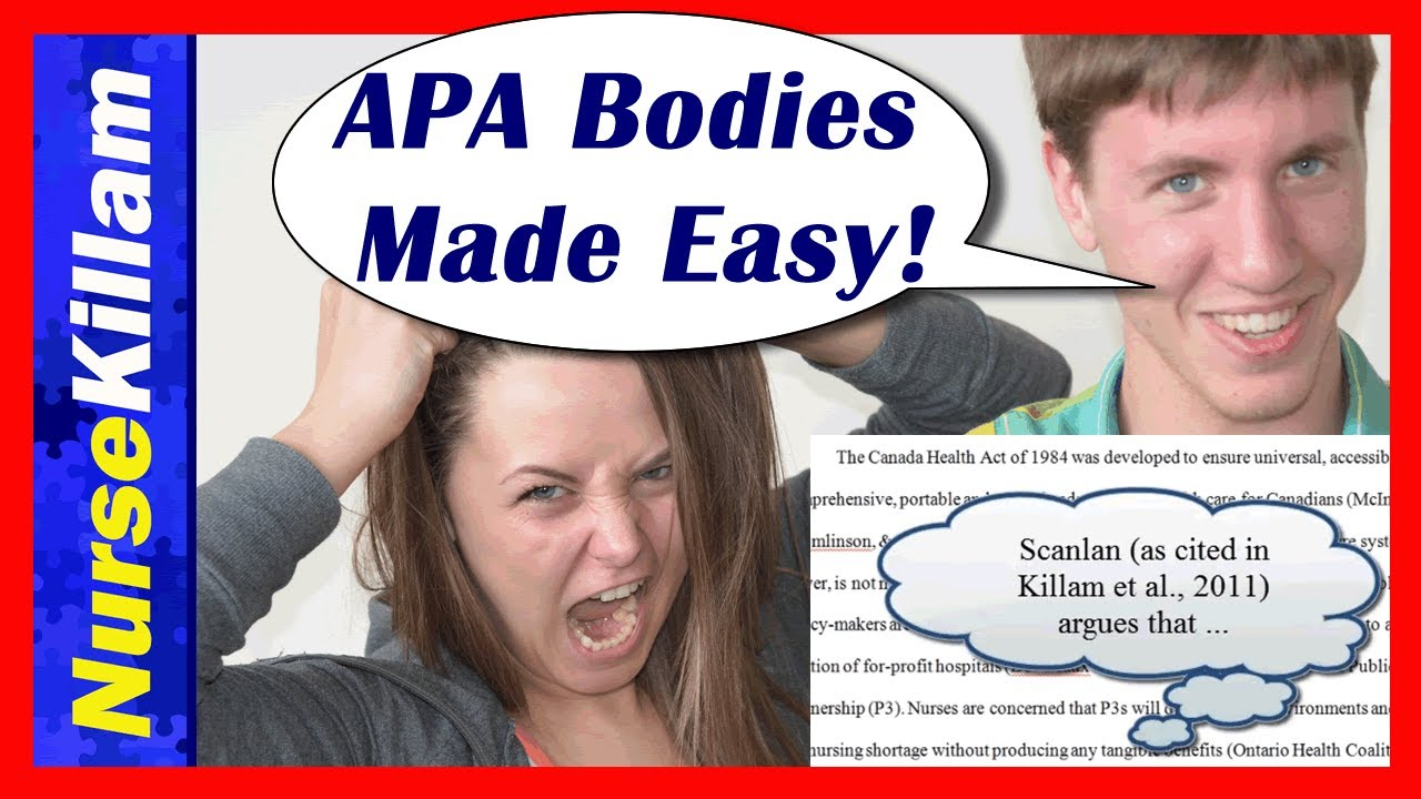 essay body basics apa made easy guide video 3 of 4 essay body basics apa made easy guide video 3 of 4