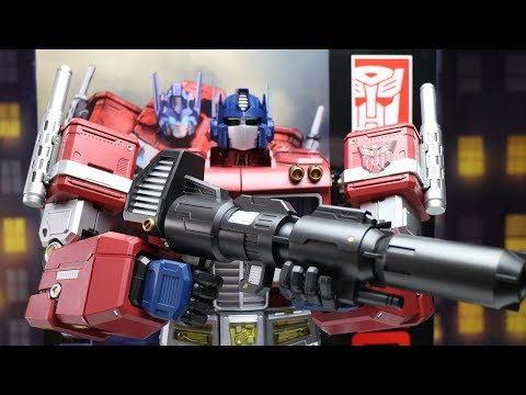 Toy Alliance Optimus Prime Says: Autobots I Can't TRANSFORM!! Mega 18 Inches Tall.