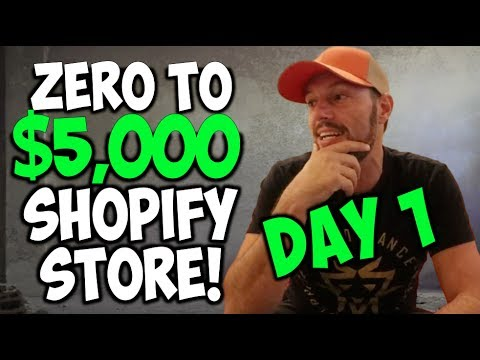 [1/5] Taking A New Shopify Store From $0 To $5,000 | Chris Record Vlogs 71