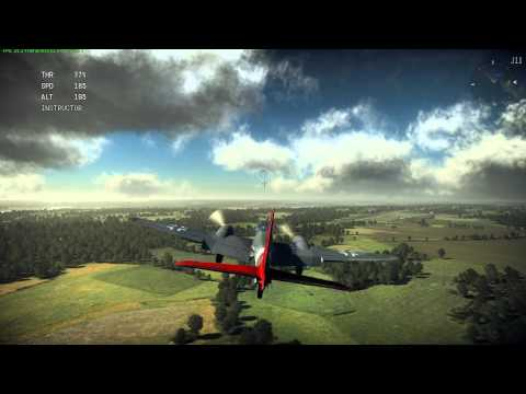 War Thunder : Me410 Landing