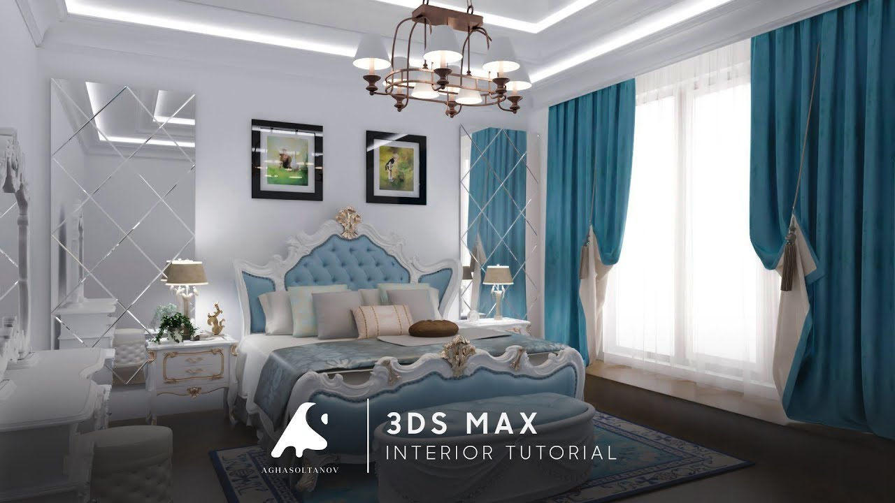3d max classic nterior modeling design vray photoshop Interior design videos free download