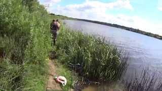 Душевная рыбалка на границе с Костромской областью.р.Кострома