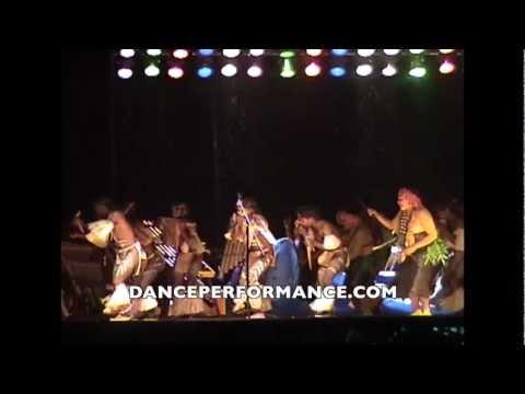 Festival of Pacific Arts at Palau - Solomon Islands Bamboo Dance 8