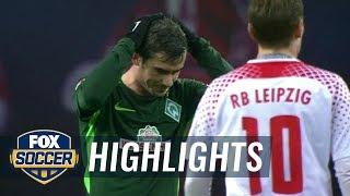 Video Gol Pertandingan RasenBallsport Leipzig vs Werder Bremen