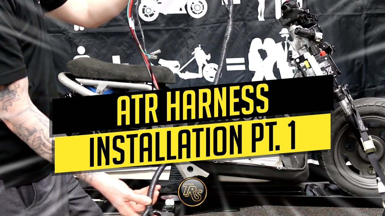 ATR GY6 HARNESS PART 1 Atr Ruckus Wiring Harness Install on