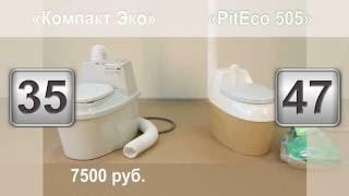 Купить биотуалет Compact ECO или Piteco505? Биотуалет отзывы.(Какой купить биотуалет Compact ECO или Piteco505? Смотрите подробный обзор торфяных биотуалетов., 2014-11-28T11:01:57.000Z)