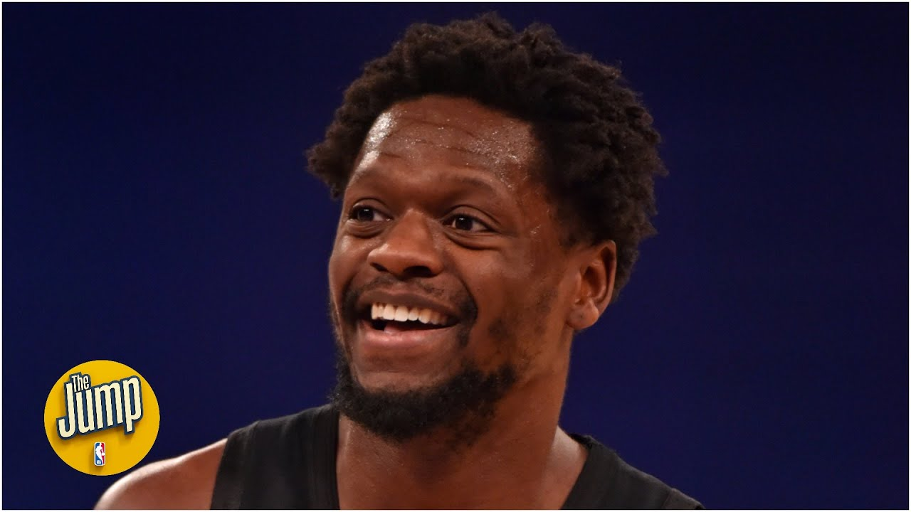 Julius Randle is averaging 20/10/5 and he's the only zero-time All-Star to be doing it | The Ju