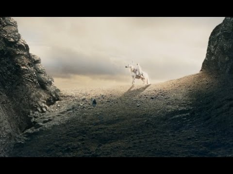 "Download The Lord of the Rings: The Two Towers (2002) - ""Forth Eorlingas"" scene"