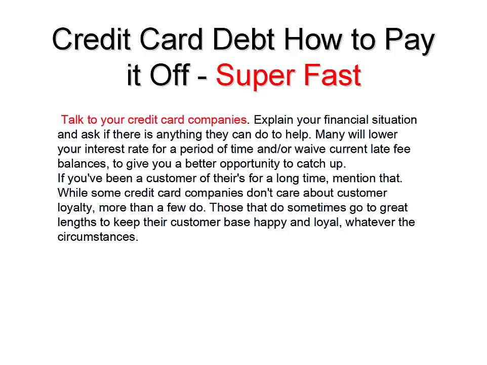 Credit Card Payoff Calculator YouTube – Credit Card Payoff Calculator