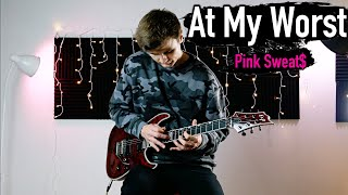 At My Worst - Pink Sweat$ - Emotional Rock Cover (Electric Guitar)