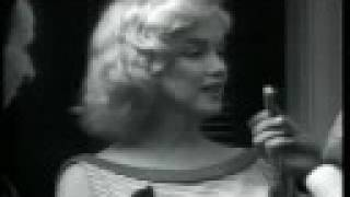 Marilyn Monroe - Interview after marriage to Miller re HUAC. HiQ