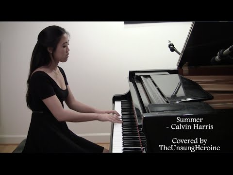 Summer - Calvin Harris (Piano Cover)
