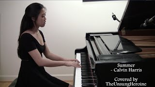Summer - Calvin Harris (Piano Cover)