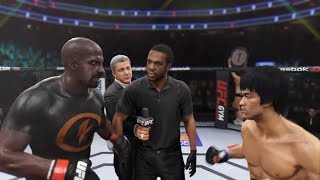 Luck Cage vs. Bruce Lee (EA Sports UFC 2) - CPU vs. CPU