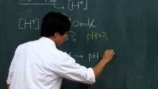 【化学基礎】酸塩基反応⑦~簡単なpHの考え方~