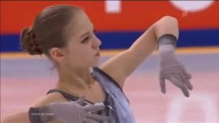 Чемпионат России по фигурному катанию 2020 в Красноярске Короткая программа Александры Трусовой