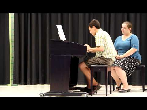 Matthew Russo playing Beethoven