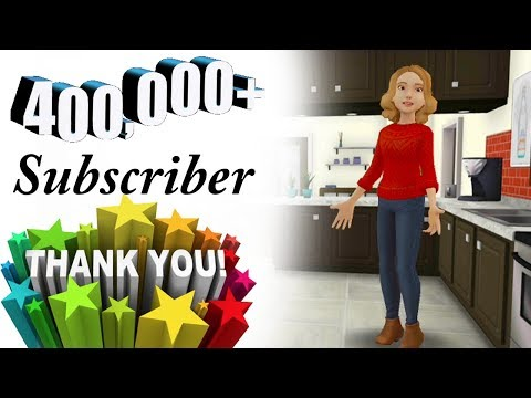 OMG! 400,000 Subscribers 💞 Completion 🌹 Thank you 😍 Memoona Muslima Urdu HIndi