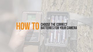 Video: How to choose the correct batteries for your camera