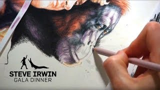 Steve Irwin Gala Dinner Portrait Time Lapse