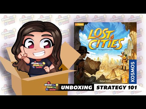 Lost Cities Unboxing And Basic Strategy